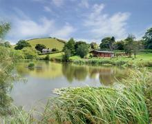 Snaptrip - Last minute cottages - Superb Dulverton Rental S12223 - Lake/Grounds