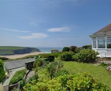 Snaptrip - Last minute cottages - Lovely Mawgan Porth Cottage S57472 - External and view