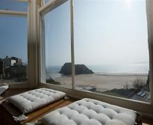 Snaptrip - Last minute cottages - Excellent Tenby Apartment S43788 - The stunning view from St Catherines Apt.