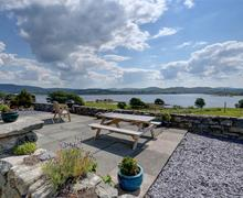 Snaptrip - Last minute cottages - Inviting Trawsfynydd Rental S11247 - WAH659 - Patio View 1