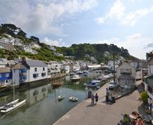 Snaptrip - Last minute cottages - Superb Cornwall Polperro Cottage S58411 - Corner view from master 1_R
