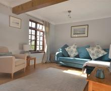 Snaptrip - Last minute cottages - Charming South Devon Modbury Cottage S77123 - 2 Rowan Court  sitting room (3)_WEB