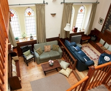 Snaptrip - Last minute cottages - Charming Knowle Cottage S80588 - View from balcony of spacious living area