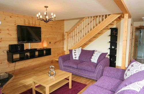 Snaptrip - Last minute cottages - Beautiful Knighton Lodge S1495 - Living area