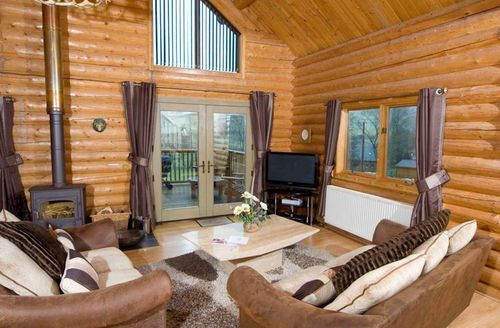 Snaptrip - Last minute cottages - Cosy Knighton Lodge S1502 - Living area