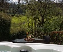 Snaptrip - Last minute cottages - Attractive Pont Faen Cottage S78680 - Luxury new cedar wood hot tub installed in 2017!