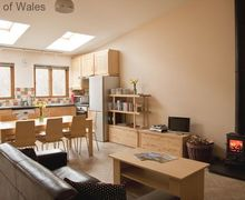 Snaptrip - Last minute cottages - Luxury Llanbrynmair Cottage S57841 - Underfloor heating, wood burner & leather sofas for those cosy nights in