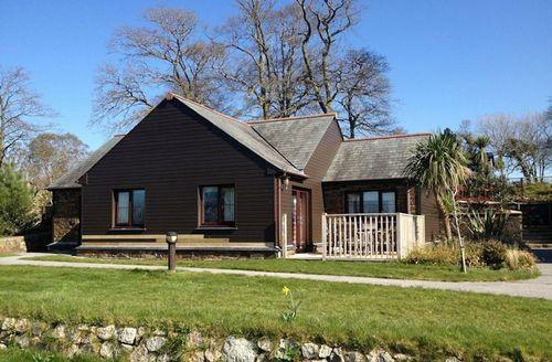 Snaptrip - Last minute cottages - Lovely Par Lodge S1571 - Woodland View