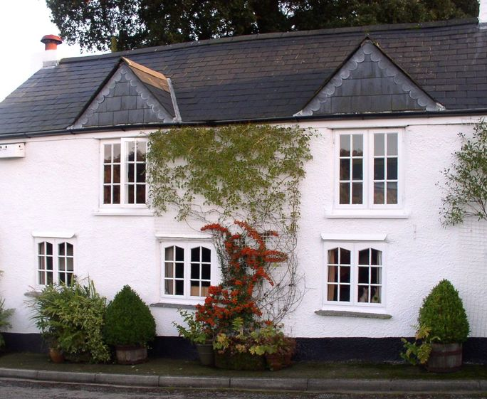 Delightful tregadillett cottage s34525 briar cottage for Country cottage kennel