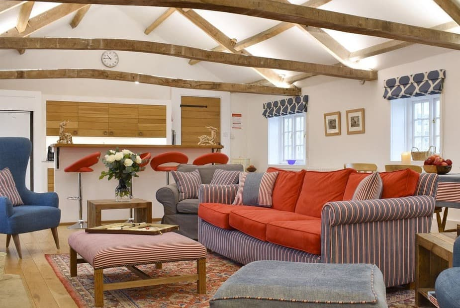 Attractive open-plan living space | The Annexe, Jervaulx, near Ripon - The Annexe
