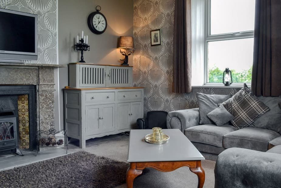 Attractive and comfortable living room | The Old School House - The Old School House & Studio, Waverton, near Wigton - The Old School House