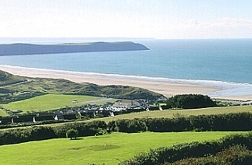 Snaptrip - Last minute cottages - Cosy Woolacombe Views S1668 - View from apartment