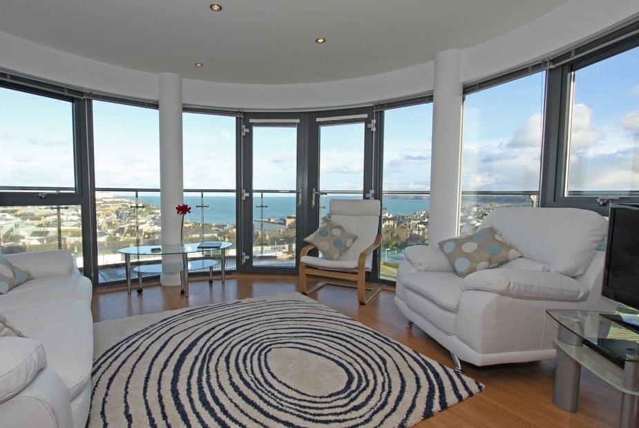 Living area   10 Horizons - Horizons, Newquay - 10 Horizons