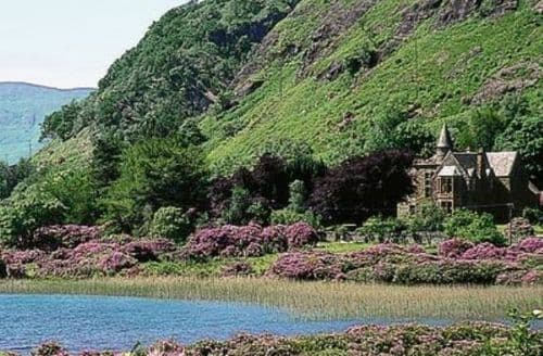 Snaptrip - Last minute cottages - Exquisite All Isle Of Mull Lodge S23219 -