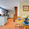 Snaptrip - Last minute cottages - Splendid St Clears Cottage S98577 - Dining area adjacent to the spacious kitchen