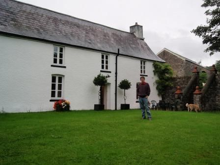 Craig y nos farmhouse