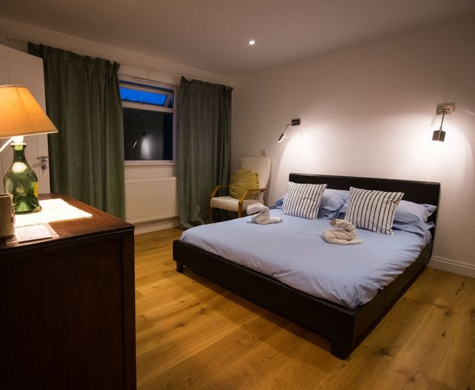 Palmers Master bedroom is en suite and generously proportioned