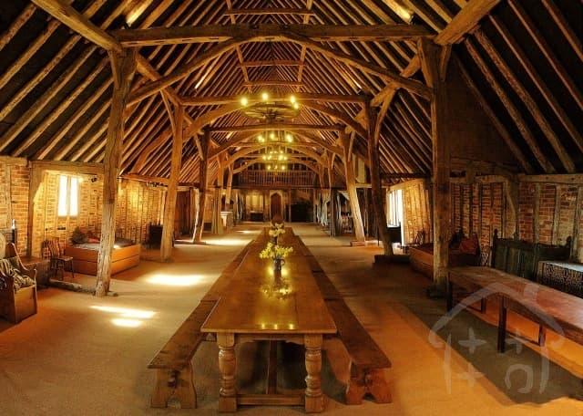 The Tudor Barn Enjoy the space of the 16th century Tudor barn