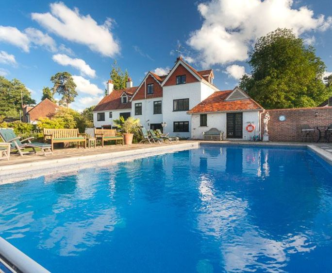 Merrieweathers House Heated pool (12m by 6m) is available from 8 am to 8 pm, April – end of October