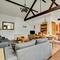Kings Cottage Barn Open Plan Living Room