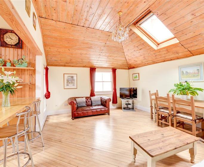 Brunswick Cottage Living Room