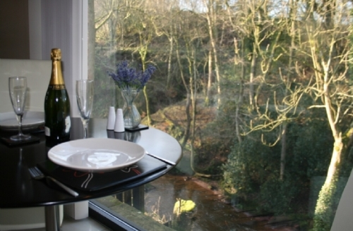 Snaptrip - Last minute cottages - Luxury Longtown Cottage S33880 - Heronry Cottage, dining area, Scottish Cottage Holidays