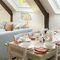 Aarons, Whiddon Down, Okehampton First floor:  Large sitting room/dining room