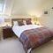 Aarons, Whiddon Down, Okehampton First floor:  Double bedroom with 5' bed
