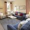 East House, Cheswick Ground floor: Sitting room with Smart TV
