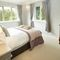 The Limes, Coxwold Ground floor: Bedroom with 4'6 double bed and en-suite bathroom