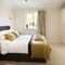 The Limes, Coxwold First floor: Master bedroom with 4'6 double bed and en-suite bathroom