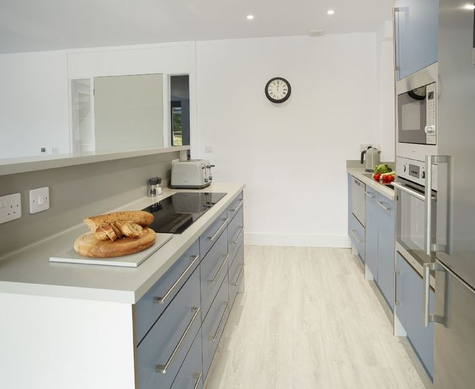 Kingston Barn 3, Kingston Ground floor:  Contemporary open plan kitchen