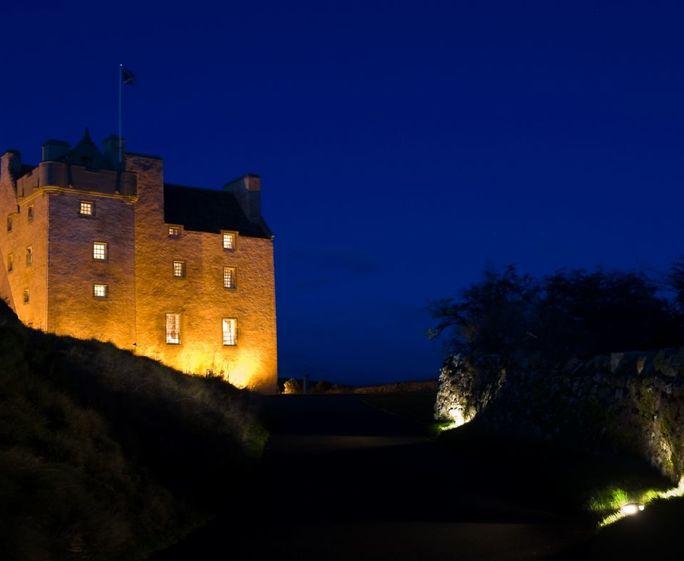 Fenton Tower, Kingston, North Berwick Fenton Tower at night