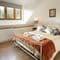 Slowpool & Littlepool, Offwell, near Honiton Littlepool: First floor bedroom with en-suite bathroom