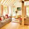 Deerpark Lodge, Staunton Harold, Ashby-de-la-Zouch Ground floor: Open plan sitting, dining and kitchen