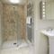2 Kitts Hill , Trewethern, Chapel Amble First floor: Family shower room