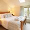 Old Bothy, Halford Ground floor:  Double bedroom with 4'6 bed