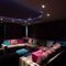 Waternook, Ullswater, The Lake District Ground floor: Private cinema with a choice of seating and incorporating state of the art technology and mood lighting