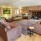 Middle Hollacombe Farmhouse, Hollacombe Ground floor:  Large sitting room with wood burning stove