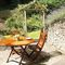 Mill Race Cottage, Bonsall Enclosed garden with garden furniture and barbecue