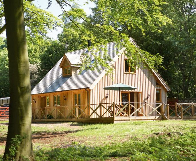 Deerpark Lodge, Staunton Harold, Ashby-de-la-Zouch The Deerpark Lodge with accommodation for 6 guests