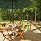 Deerpark Lodge, Staunton Harold, Ashby-de-la-Zouch Decked patio area
