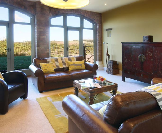 Vicarage Barn, Long Compton, Shipston-on-Stour Ground floor:  Sitting room