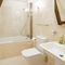 Vicarage Barn, Long Compton, Shipston-on-Stour First floor:  En-suite bathroom with bath, hand held shower, basin and WC