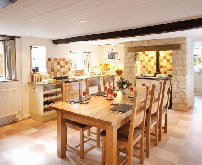 Rose Cottage (Dorset), Powerstock Ground floor: Kitchen/dining room