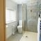 Middle Hollacombe Farmhouse, Hollacombe First floor: En-suite shower room to twin bedroom with 3' beds