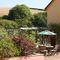 Middle Hollacombe Farmhouse, Hollacombe Patio and pergola