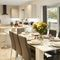 Goldcrest, Kinnerley, near Oswestry Ground floor: Open plan living, dining and kitchen area with sliding doors to the wooden veranda