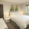 Goldcrest, Kinnerley, near Oswestry Ground floor: Bedroom two with king size bed and en-suite shower room
