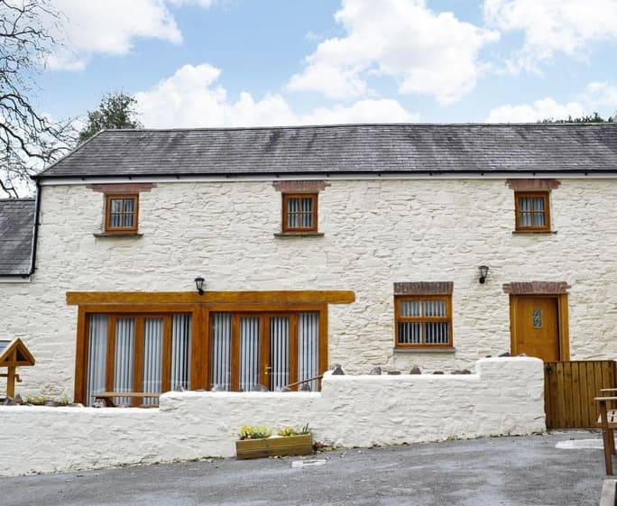 Exterior | Llanmiloe House Country Cottages - Fletcher Coach House, Llanmiloe, nr. Pendine - Fletcher Coach House